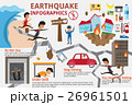 Earthquake infographics elements.  26961501