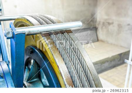motor of the elevatorの写真素材 [26962315] - PIXTA