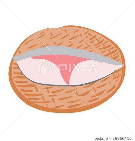 ぶり 鍋 食材 ざる イラストのイラスト素材 26966410 Pixta