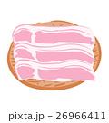 豚肉 薄切り ざるのイラスト 26966411