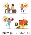 アイコン ハッカー マンガのイラスト 26967340