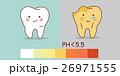 酸性 虫歯 キャラクターのイラスト 26971555