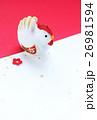酉 干支 ニワトリの写真 26981594