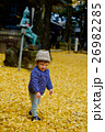 紅葉 秋 イチョウの写真 26982285