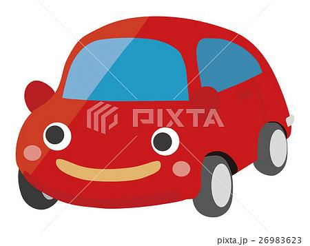 かわいい車のイラスト素材 26983623 Pixta