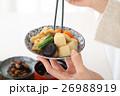 和食 食事 女性の写真 26988919
