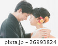 新郎新婦 和装婚 ブライダルの写真 26993824