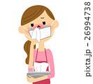 主婦 女性 花粉症のイラスト 26994738