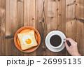パン 食事 朝食の写真 26995135
