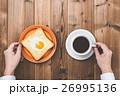 パン 食事 朝食の写真 26995136