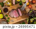 ローストビーフ 牛肉 料理の写真 26995471