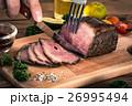 ローストビーフ 牛肉 料理の写真 26995494
