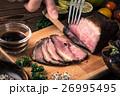 ローストビーフ 牛肉 料理の写真 26995495
