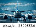 飛行機 滑走路 26995530