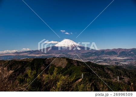 矢倉岳から望む富士山 26996509