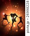 ヒップホップ ステージ ダンスのイラスト 26998228