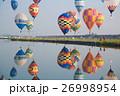 映り込みの気球 26998954