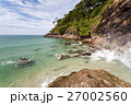 Tropical Island. Thailand Ocean with Cliff  27002560
