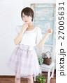 若い女性 ファッション ポートレート 27005631