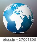 Globe. Vector Earth. 27005808
