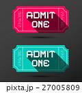 Admit One Ticket. 27005809