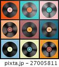 Vinyl Records. Retro LP Discs Set Vector. 27005811