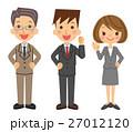 ビジネス グループ ポジティブ 27012120