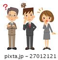ビジネス グループ 表情 27012121