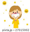 花粉症 花粉 アレルギーのイラスト 27015002