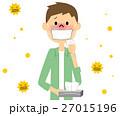 花粉症 花粉 アレルギーのイラスト 27015196