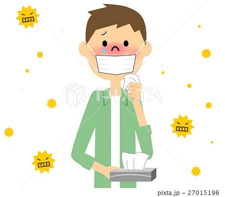 花粉症の男性 27015196