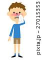 鼻水 鼻炎 子供のイラスト 27015353