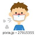 鼻水 鼻炎 子供のイラスト 27015355