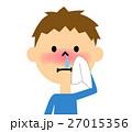 鼻水 鼻炎 子供のイラスト 27015356