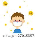 花粉症 花粉 鼻炎のイラスト 27015357
