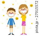花粉症 花粉 アレルギーのイラスト 27015572