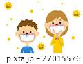花粉症 花粉 アレルギーのイラスト 27015576