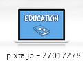 コンピュータ コンピューター パソコンのイラスト 27017278