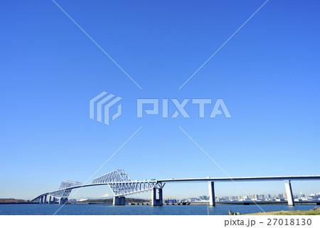 東京ゲートブリッジ 快晴 27018130