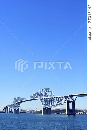 東京ゲートブリッジ 快晴 27018142