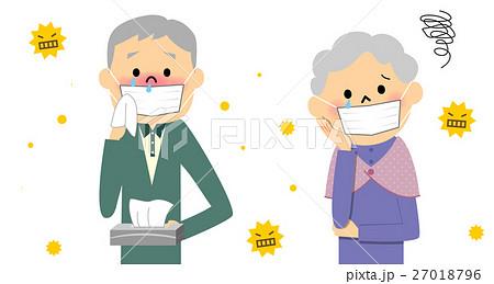 花粉症のシニアカップル 27018796