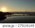 江ノ島 日の入り 海の写真 27019149