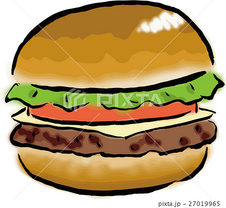 ハンバーガー 27019965