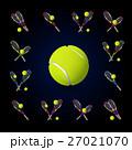 テニス ボール 玉のイラスト 27021070
