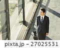 ビジネスマン 出張 空港の写真 27025531