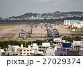 オスプレイが駐機する普天間飛行場(2016年12月13日撮影) 27029374