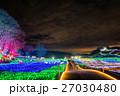 東京ドイツ村 イルミネーション ライトアップの写真 27030480