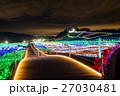東京ドイツ村 イルミネーション ライトアップの写真 27030481