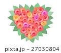 バラ 花 ベクターのイラスト 27030804
