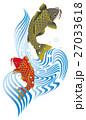 鯉の滝登り 夫婦鯉 27033618